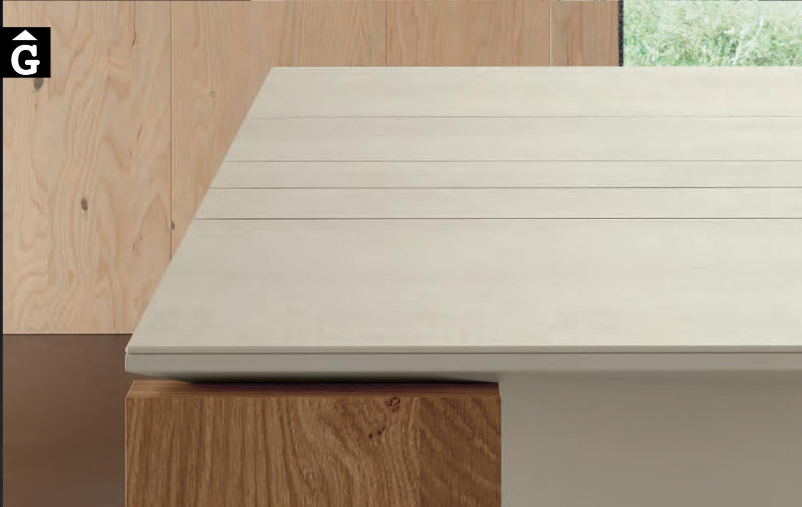 Taula menjador Tavole | Detall sobre porcellànic | Moble de Qualitat | Vive | mobles Gifreu