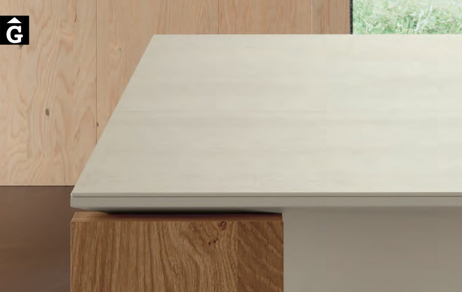 Taula menjador Tavole | Detall sobre porcellànic llis | Moble de Qualitat | Vive | mobles Gifreu