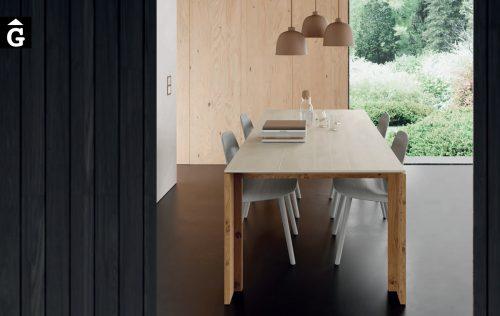 Taula menjador Tavole Porcellànic i fusta