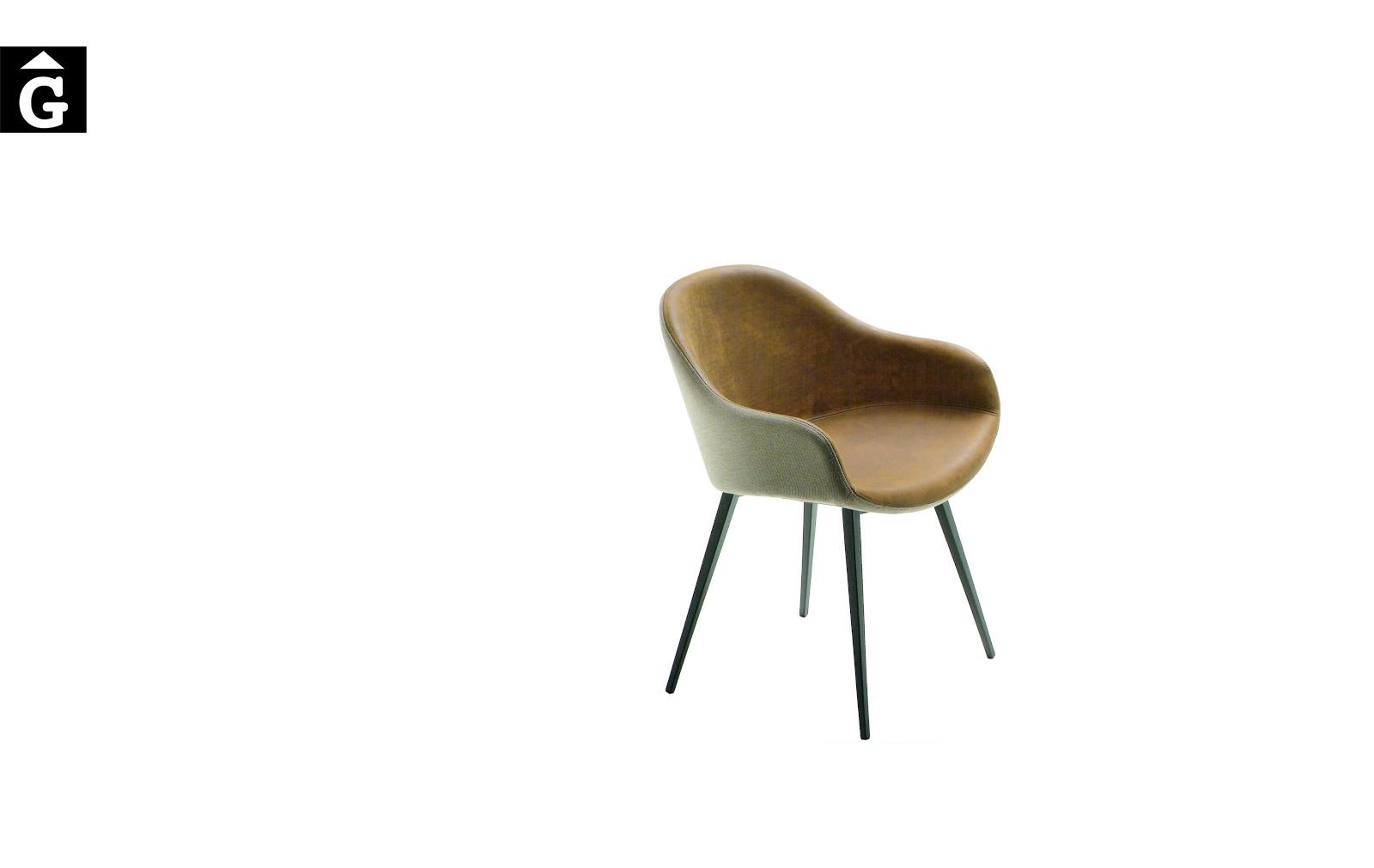 Cadira amb braços Sonny | MIDJ | mobles Gifreu | Productes de qualitat Premium