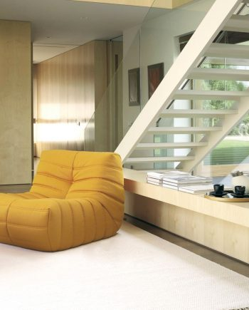 Silló i puff Oruga | Atemporal | Ethical home interiors | Gifreu | sofas | Girona