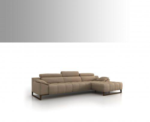 Sofà chaise longue