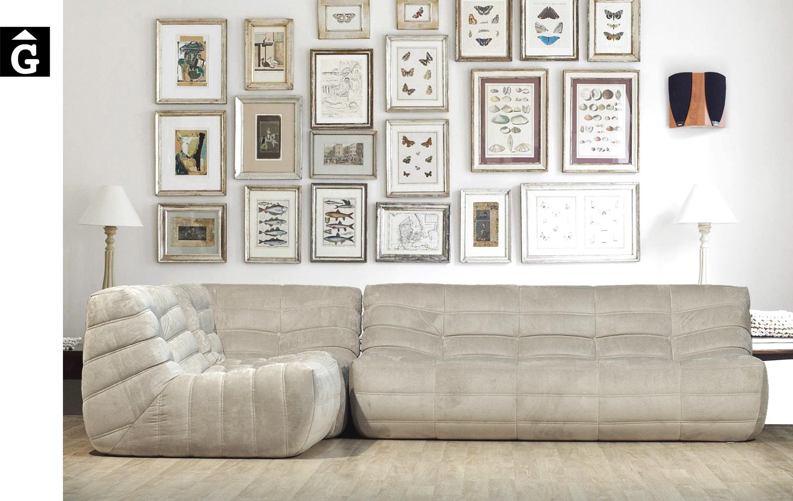 Sofà raconer Oruga beige | Atemporal | Ethical home interiors | Gifreu | sofas | Girona