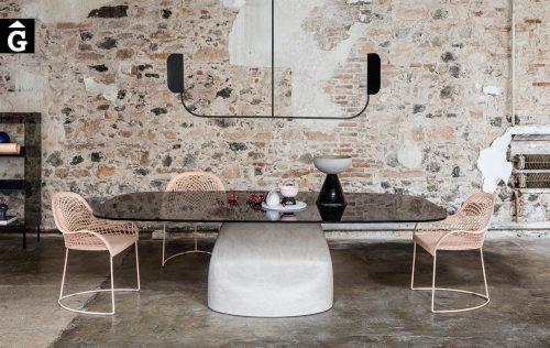 Taula menjador Gran Sasso | MIDJ | mobles Gifreu | Productes de qualitat