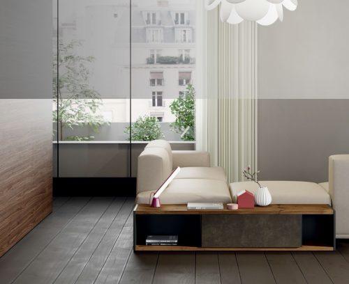 Mobles per darrere el sofà