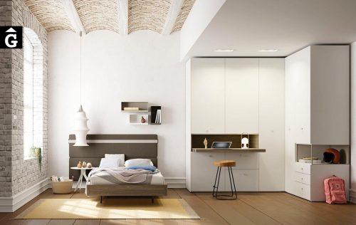 Habitació Juvenil llit individual Siesta | lagrama | mobles Gifreu