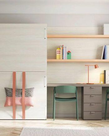 Habitació i estudi Up & Down   llits abatibles   Pràctics, saludables i segurs   Jotajotape   mobles Gifreu