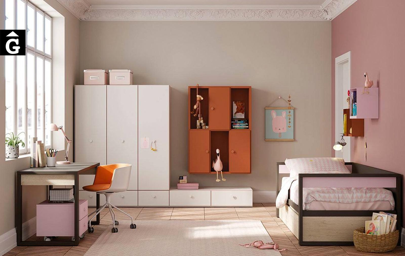 Habitació juvenil amb llit niu Top   Jove   Joven   lagrama   mobles Gifreu