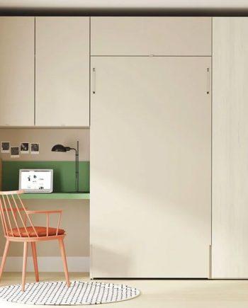 Habitació llit abatible amb escriptori i armari Up & Down | llits abatibles | Pràctics, saludables i segurs | Jotajotape | mobles Gifreu
