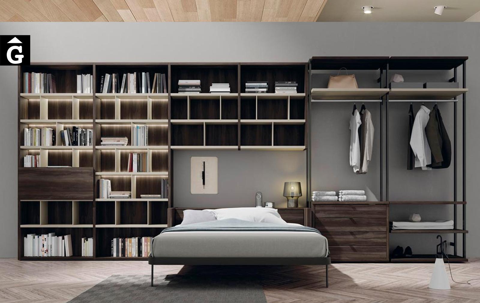 Habitació llit abatible gran Blink | lagrama | mobles Gifreu