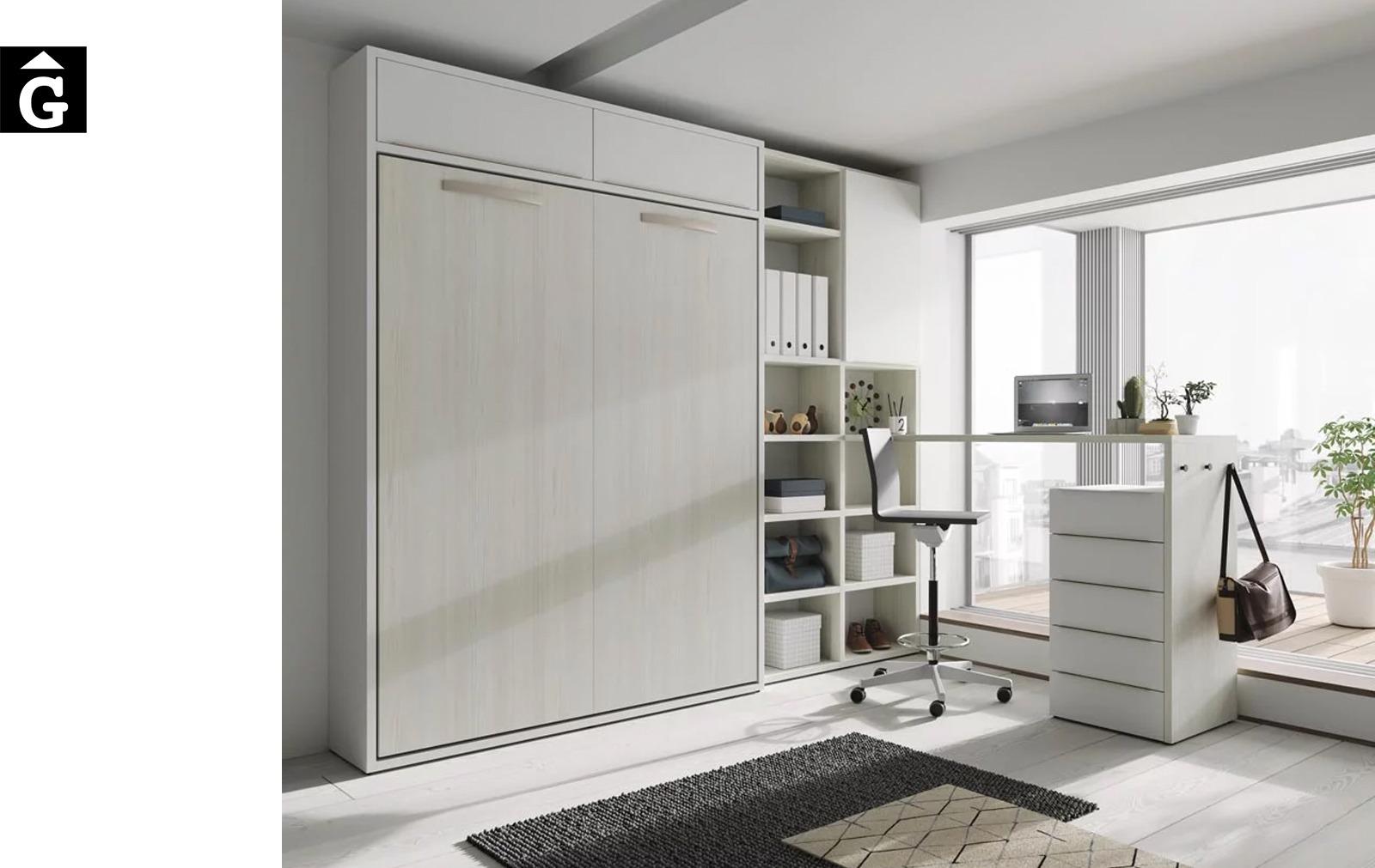 Habitació llit abatible gran | Up & Down | llits abatibles | Pràctics, saludables i segurs | Jotajotape | mobles Gifreu