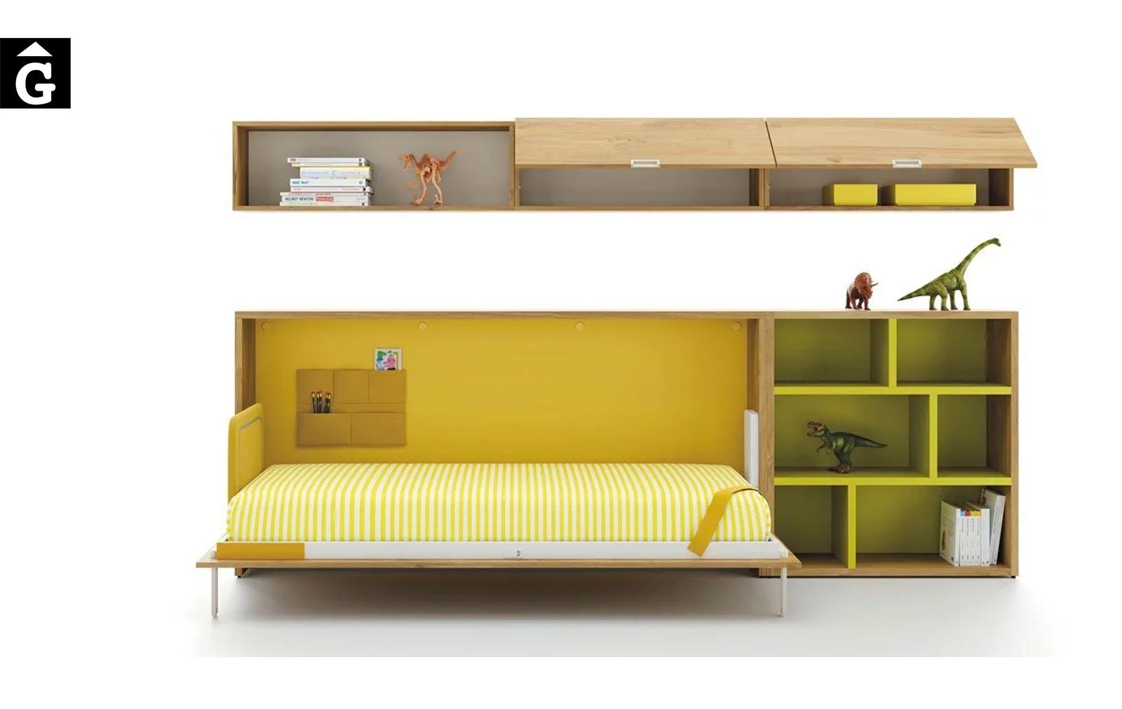 Habitació amb llit abatible horitzontal Up & Down