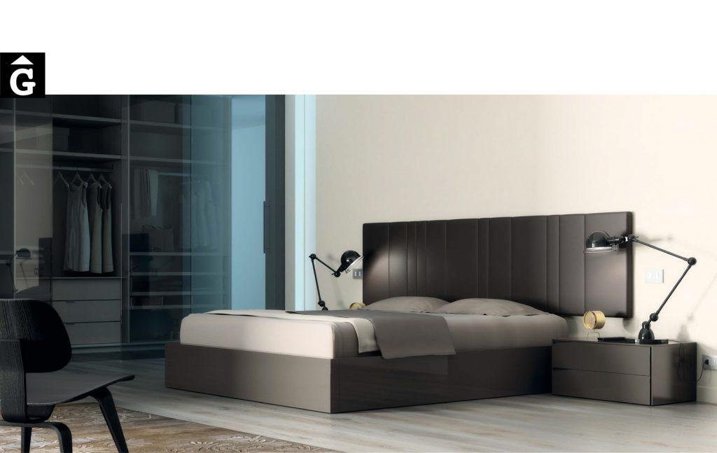 Habitació llit gran Negra D2