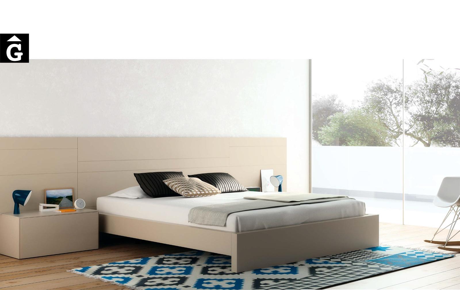 Habitació llit gran Safari | Vive | distribuiïdors oficials | mobles Gifreu