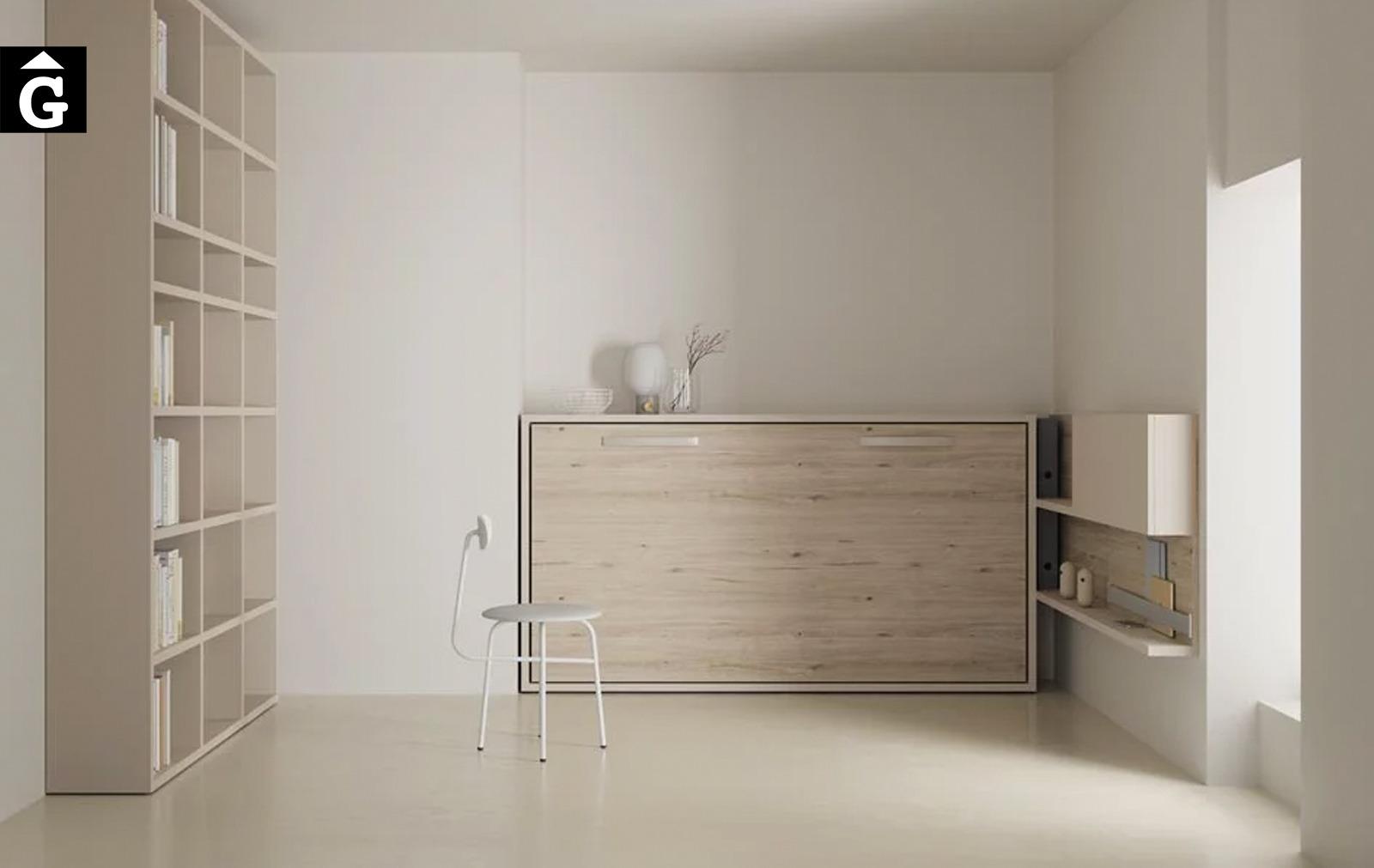 Habitació multifuncional | Llit tancat | Up & Down | llits abatibles | Pràctics, saludables i segurs | Jotajotape | mobles Gifreu