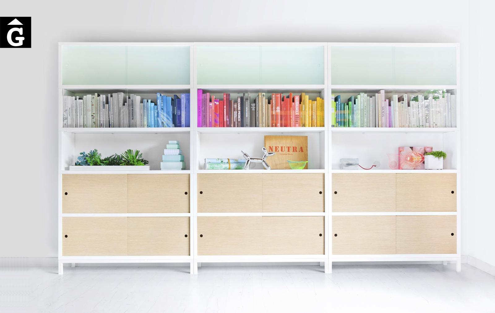Llibreria alta Sapporo | Stua | mobles de qualitat i disseny | mobles Gifreu