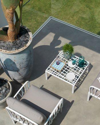 Butaques d'exterior blanques Komodo   Nardi   mobiliari d'exterior amb disseny i a preus perfectes