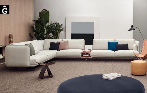 Sofà Joquer Serene raconera gran | Vista frontal | Joquer | Sofàs a mida | grans | llargs | Moderns | Modulars | per la teva llar | Comprar sofà | mobles Gifreu | Botiga | Distribuïdor Girona