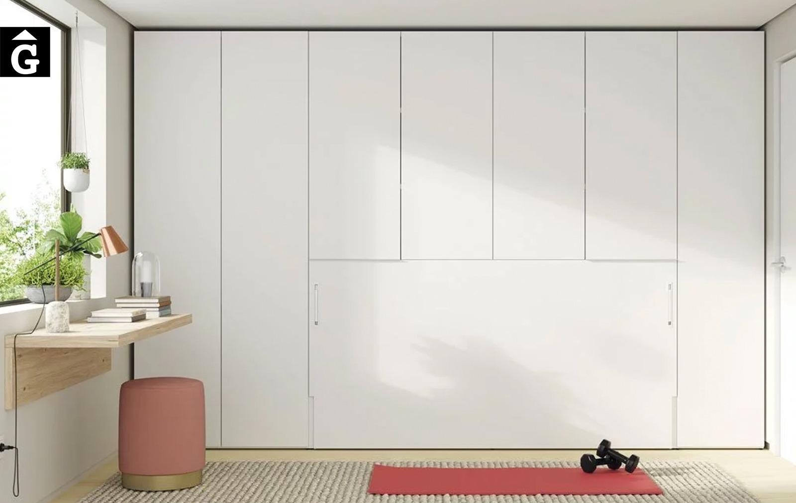 Habitació Estudi amb armari llit abatible   Up & Down   llits abatibles   Pràctics, saludables i segurs   Jotajotape   mobles Gifreu
