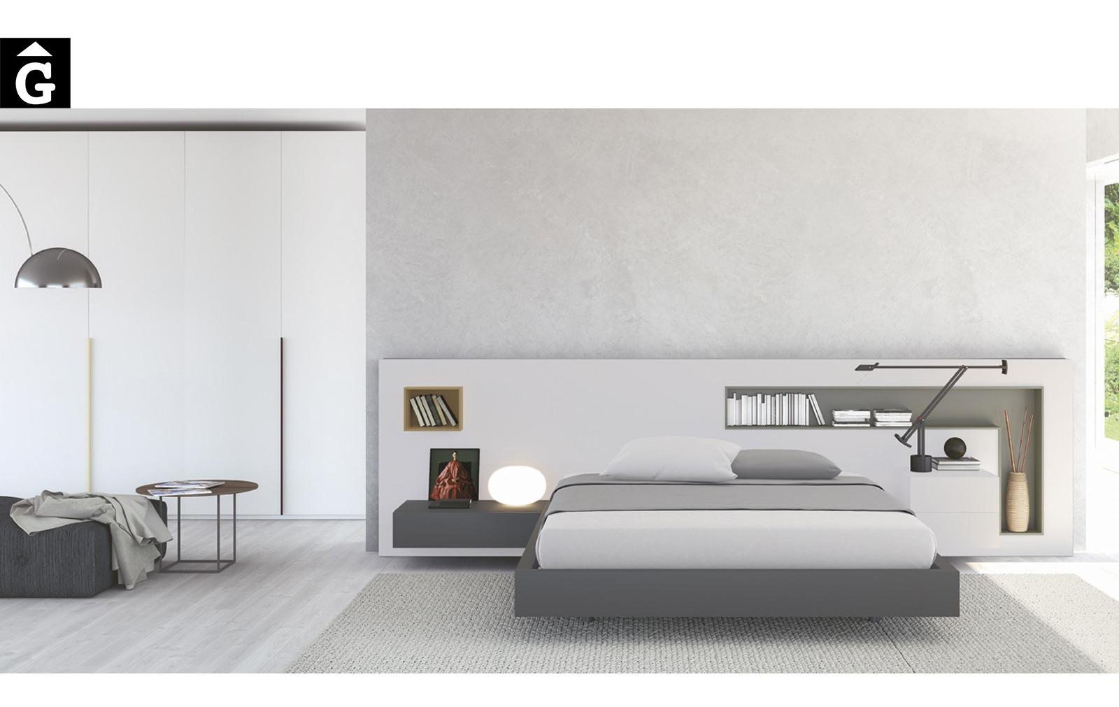 Habitació amb capçal Box | Besform mobles Gifreu | Mobles de qualitat i a mida | Girona
