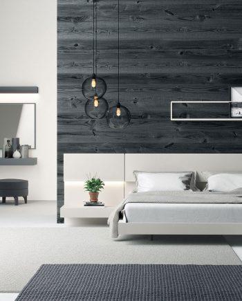 Habitació capçal laca sorra   Besform mobles Gifreu   Mobles de qualitat i a mida   Girona