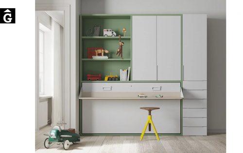 Habitació estudi amb llit abatible Infinity | llits abatibles | Pràctics, saludables i segurs | Jotajotape | mobles Gifreu