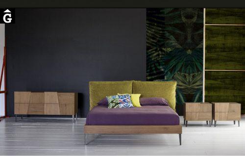 Habitació llit gran Zero 16 | Capçal entapissat | Devina Nais | Mobles Gifreu distribuïdor oficial