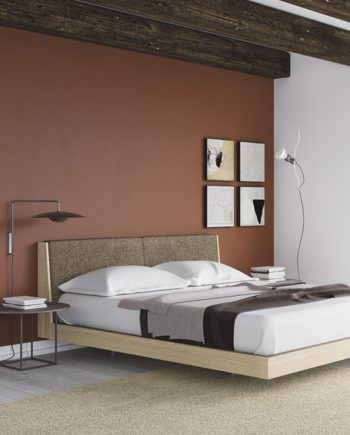 Habitació llit gran capçal Pilow entapissat   Besform mobles Gifreu   Mobles de qualitat i a mida   Girona