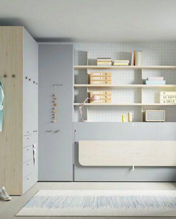 Habitació multifuncioal Up & Down | llits abatibles | Pràctics, saludables i segurs | Jotajotape | mobles Gifreu