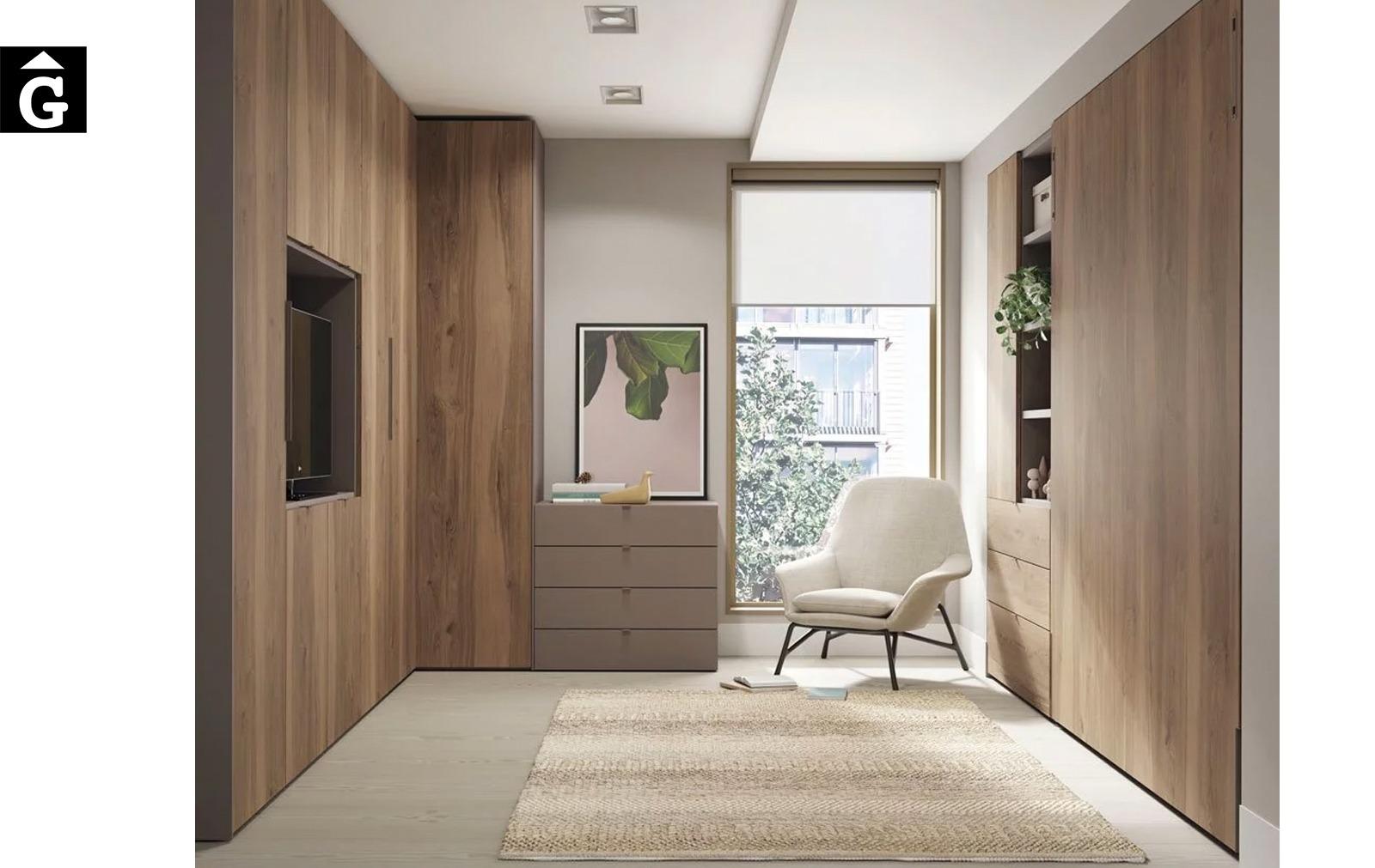 Habitació multifuncional   Up & Down   llits abatibles   Pràctics, saludables i segurs   Jotajotape   mobles Gifreu