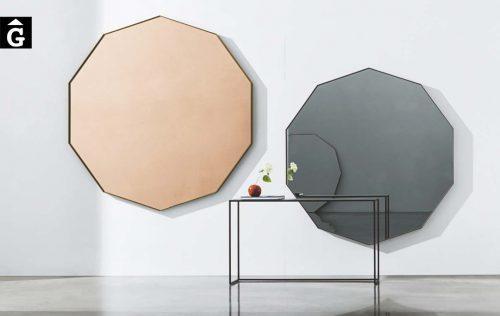 Miralls decoratius Visual | Decagonal i molt gran | Sovet | mobles Gifreu | Botiga | Distribuïdor Girona
