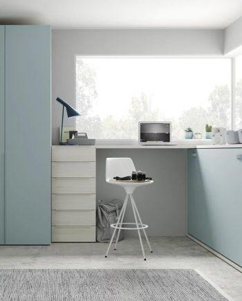 Moble estudi amb escriptori alt | Up & Down | llits abatibles | Pràctics, saludables i segurs | Jotajotape | mobles Gifreu