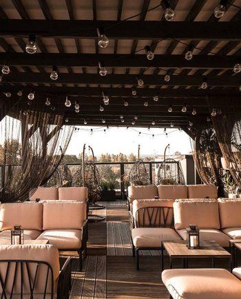 Sofà Komodo terrassa bar   Mobles d'exterior   Contract     Nardi  