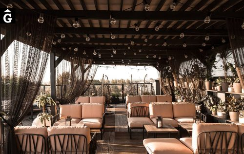 Sofà Komodo terrassa bar | Mobles d'exterior | Contract | | Nardi |
