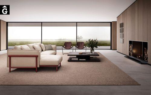 Sofà chaise longue Joquer Silence | Joquer | Sofàs a mida | grans | llargs | Moderns | Modulars | per la teva llar | Comprar sofà | mobles Gifreu | Botiga | Distribuïdor Girona