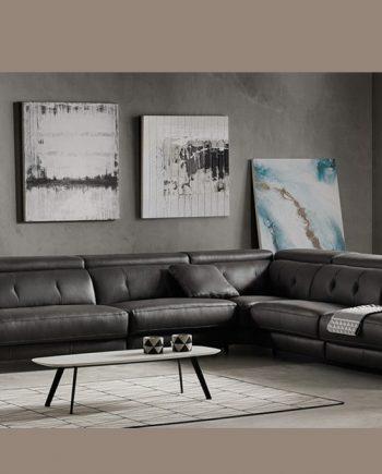 Sofà gran raconer relax elèctric Claudia | Bobbio | Sofàs a mida | grans | llargs | Moderns | Modulars | Per a casa | Comprar sofà | mobles Gifreu | Botiga | Distribuïdor Girona