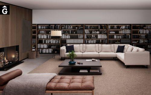 Sofà gran raconera Joquer Silence | Joquer | Sofàs a mida | grans | llargs | Moderns | Modulars | per la teva llar | Comprar sofà | mobles Gifreu | Botiga | Distribuïdor Girona