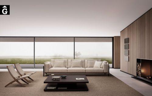 Sofà llarg Joquer Silence | Joquer | Sofàs a mida | grans | llargs | Moderns | Modulars | per la teva llar | Comprar sofà | mobles Gifreu | Botiga | Distribuïdor Girona