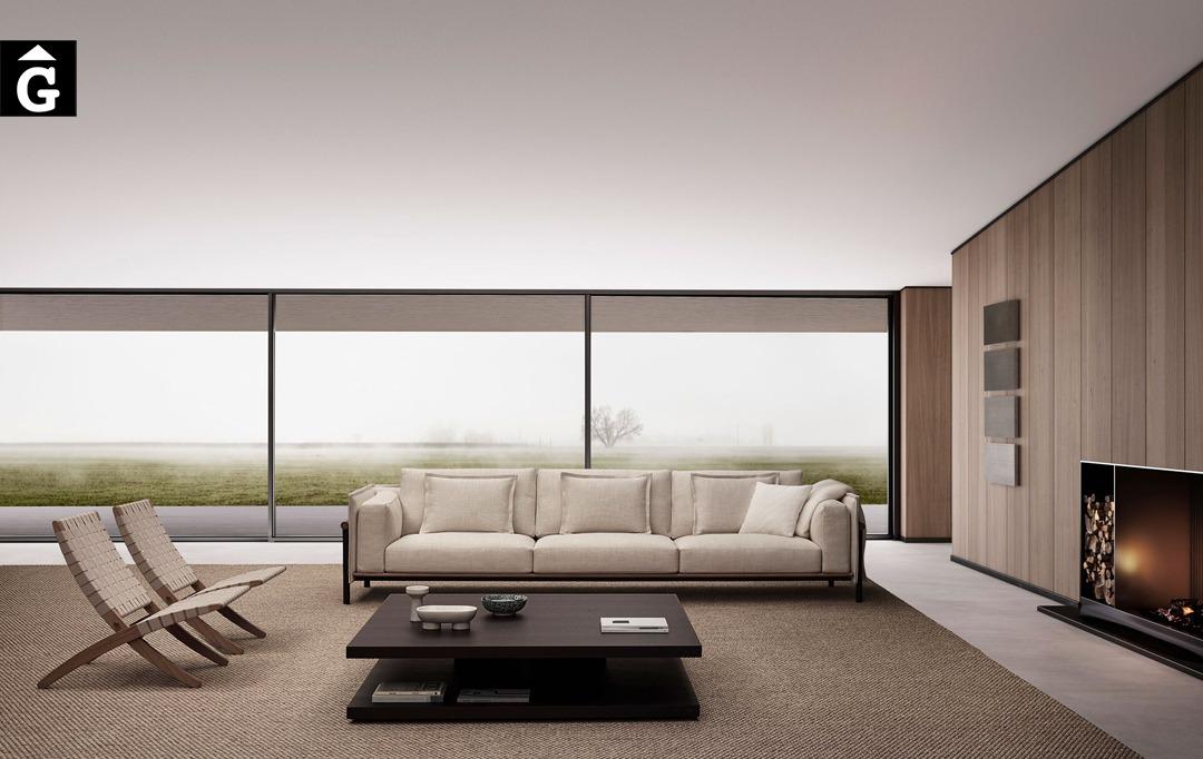 Sofà llarg Joquer Silence   Joquer   Sofàs a mida   grans   llargs   Moderns   Modulars   per la teva llar   Comprar sofà   mobles Gifreu   Botiga   Distribuïdor Girona