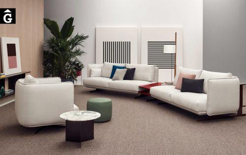 Sofà llarg forma Joquer Serene | Joquer | Sofàs a mida | grans | llargs | Moderns | Modulars | per la teva llar | Comprar sofà | mobles Gifreu | Botiga | Distribuïdor Girona