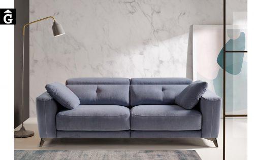 Sofà petit relax elèctric Julia | Bobbio | Sofàs a mida | grans | llargs | Moderns | Modulars | Per a casa | Comprar sofà | mobles Gifreu | Botiga | Distribuïdor Girona