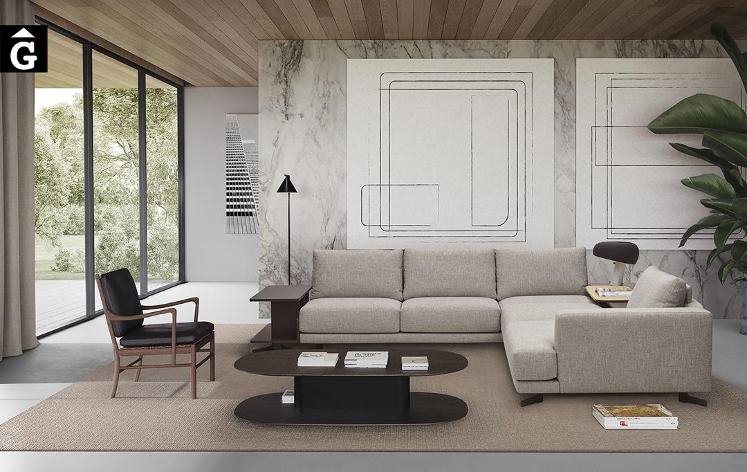 Sofà raconer obert Pulse | Joquer | Sofàs a mida | grans | llargs | Moderns | Modulars | per la teva llar | Comprar sofà | mobles Gifreu | Botiga | Distribuïdor Girona