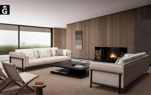 Sofàs enfrontats Silence Joquer | Joquer | Sofàs a mida | grans | llargs | Moderns | Modulars | per la teva llar | Comprar sofà | mobles Gifreu | Botiga | Distribuïdor Girona