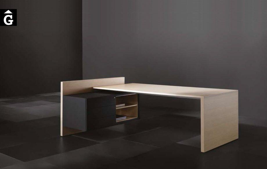 Taula despatx executiu Vektor | Forma 5 | mobiliari d'oficina molt interessant | mobles Gifreu | botiga | Contract | Mobles nous d'oficina