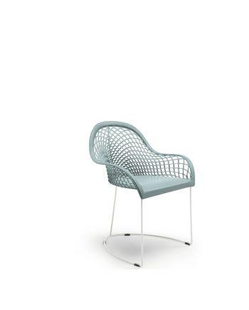 Cadira amb braços pell Guapa P M CU de MIDJ   Disseny Sempere  Taules i cadires de disseny actual   modern i conservador  casual i elegant   mobles Gifreu   Productes de qualitat