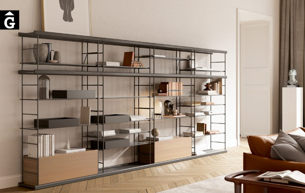 Bost   Sistema modular estanteria Bost dissenyat per Yonoh   Treku   mobles contemporanis amb tradició   mobles Gifreu