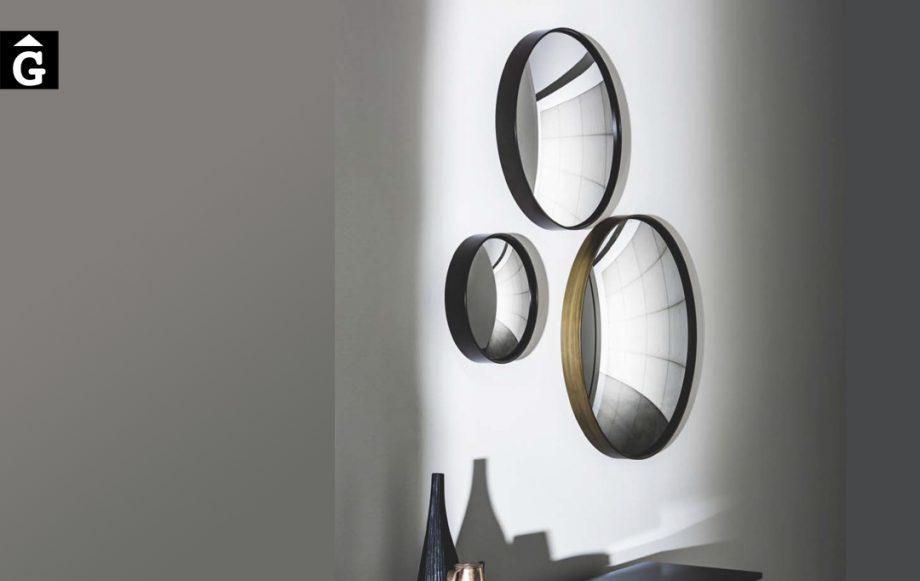 Miralls decoratius lacats i brunito Sail | Sovet | mobles Gifreu | Botiga | Distribuïdor Girona
